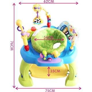 代友售嬰幼兒寶寶音樂多功能玩具座椅 寶寶安撫神器
