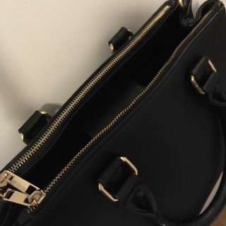 Black Satchel (Forever 21)