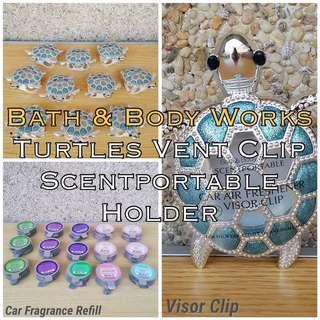 Bath & Body Works Turtles Vent Clip Scentportable Holder