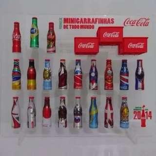 2014巴西世界盃可口可樂迷你鋁樽Cocacola