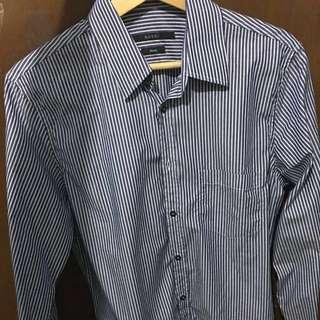 [USED][用過] Gucci 男Shirt 38 / 15 skinny