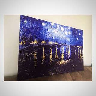 Starry night /High Quality Canvas