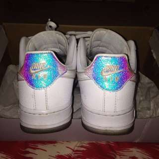 Holographic Nike Air Forces