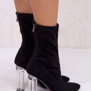 BILLINI Black Suede Boots