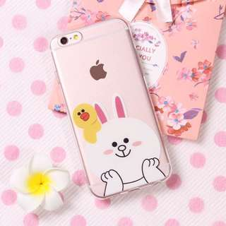 LINE Cony Sally iphone 6+/6s + handphone hp mobile cover