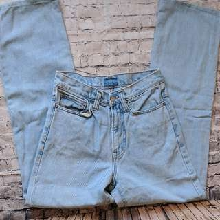 vintage Pepe jeans light wash Mom jeans size 26