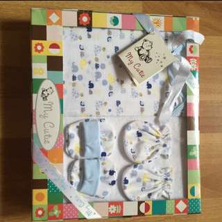 [my cutie] 4 Pieces Baby Gift Set