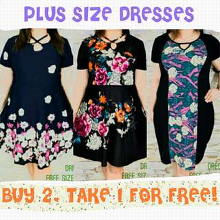 Plus Size Formal Casual Dress