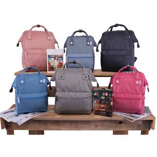 [Re-Stock] Japan Anello High Density Heat Tight Polyester Backpack~ Original 100% Authentic ☆Small (Mini) AT-B2264 / Large AT-B2261 ☆New Release
