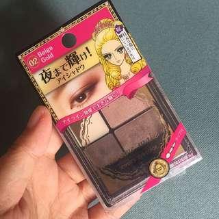 Kiss Me 4-color Eye Shadow