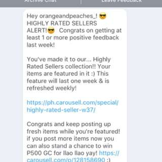Thank You CAROUSELL ❤️