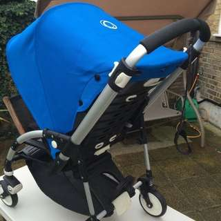 Bugaboo bee with blue canopy
