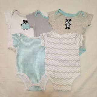 Luvable Friends 5 pcs. Onesies
