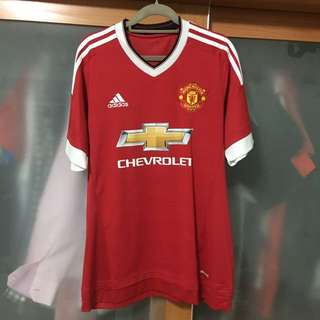 Manchester United 15/16 Home Jersey Size M