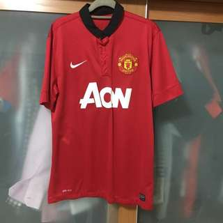 Manchester United 13/14 Home Jersey Size M