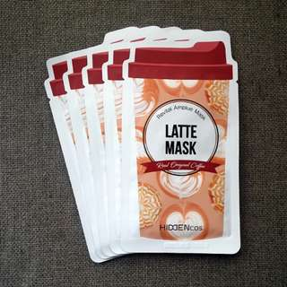 Hiddencos Latte Mask (5pcs)