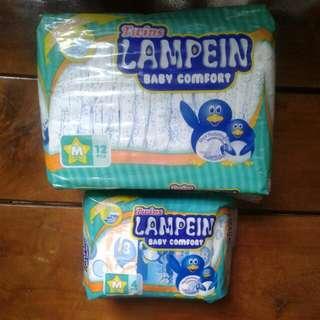 Lampein disposable diapers Medium