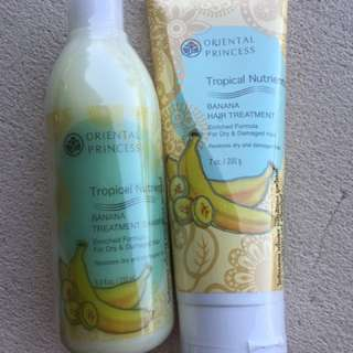 Oriental Princess Banana Shampoo & Conditioner
