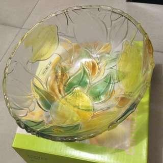 日本SOGA水晶玻璃-果盤(全新)