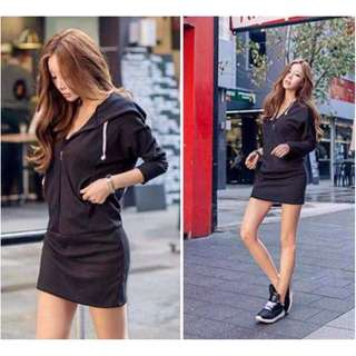 Hoody Dress (see other photos)