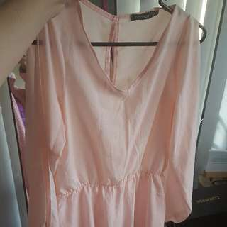 Light pink playsuit