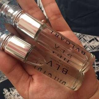 Authentic bvlgari perfume