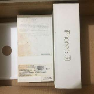 BOX iphone 5s