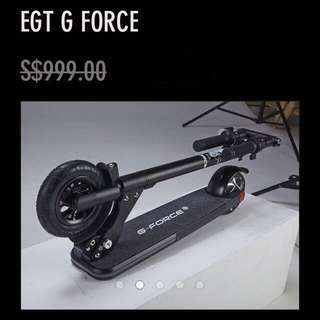 EGT GForce Escooter (Under 7kg)