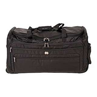Delsey Luggage Helium Sky 28 Inch Trolley Duffel Bag Duffle Holiday Travel Business Black Large