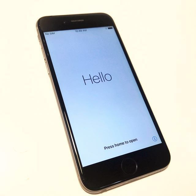 Iphone Model A1586 >> 128gb Iphone 6 Space Grey Model A1586 Mobile Phones Tablets
