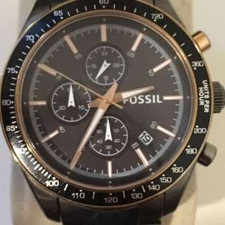 Fossil watch (near new)