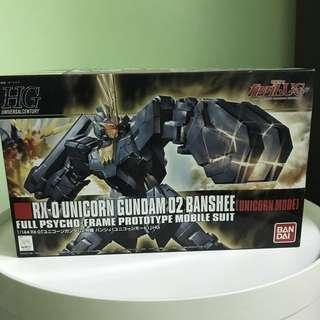 Bandai Unicorn Gundam 02 Banshee