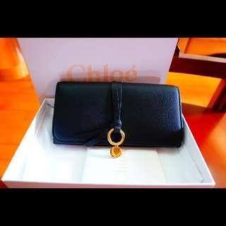 全新Chloe Alphabet Long Zipped Wallet