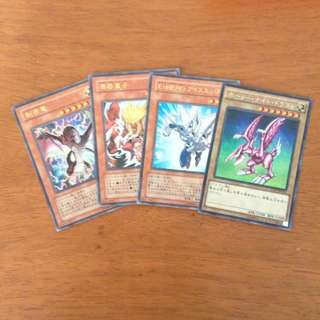 Original YuGiOh Cards (with holo)