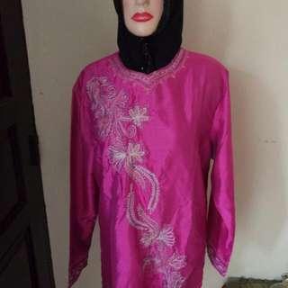 Blouse Wanita Payet Pink LD 100CM