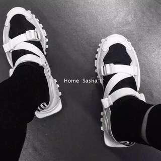 襪筒連體忍者鞋/39號/第三張照片是實穿照
