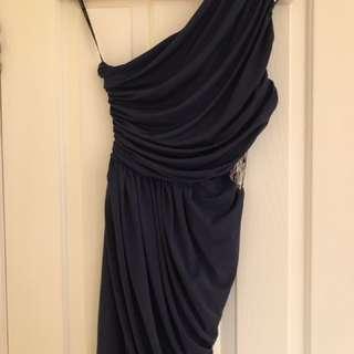 Cute 1 shoulder Formal Dress