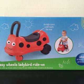 ELC Ladybug ride on