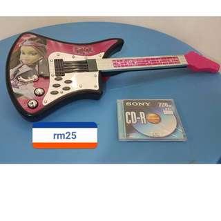 guitar, elc toys
