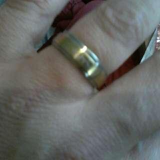 18k Gold Filled Ring  - Size11