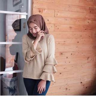 Belle sweater mocca