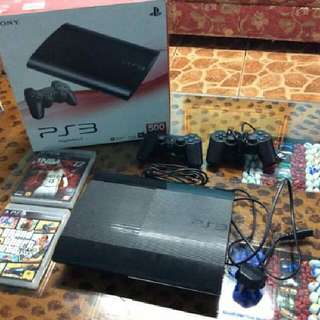 Playstation 3 (Super Slim) 500 GB