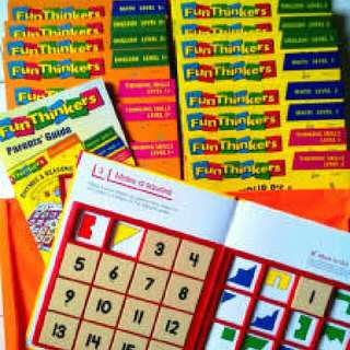 fun thinkers and talking english book set