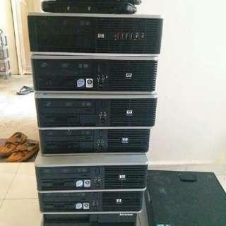 HP Lenovo Dell core2duo PC desktop