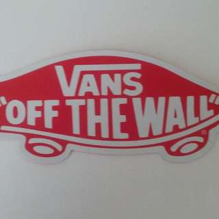 "Vans ""Off The Wall"" Stickers"