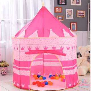*SALE @ $19.90!*Castle Play Tent Kids Children Baby Boys Girls Room Decor Play Area Tent Decor Pretend Play Role Play Preorder