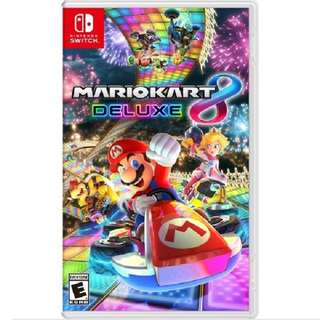 WTS: Mario Kart 8 Deluxe (Brand New/Sealed)