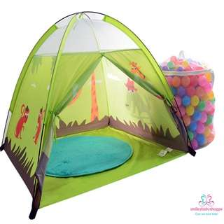 *SALE @ $19.90!*Adorable Animal Theme Tent Play Tent Kids Children Baby Boys Girls Room Decor Play Area Tent Decor Pretend Play Role Play