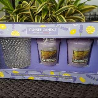 Lemon Lavender Yankee Candle Box Set