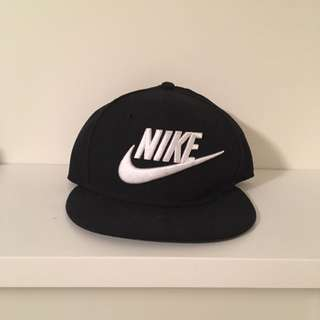 Black Nike snap back